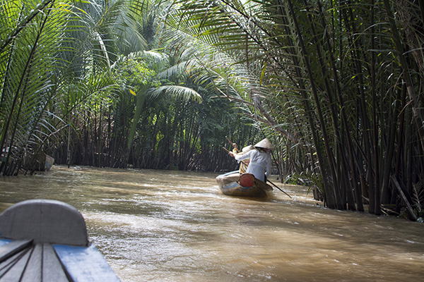 Beautiful Vietnam Mekong Delta